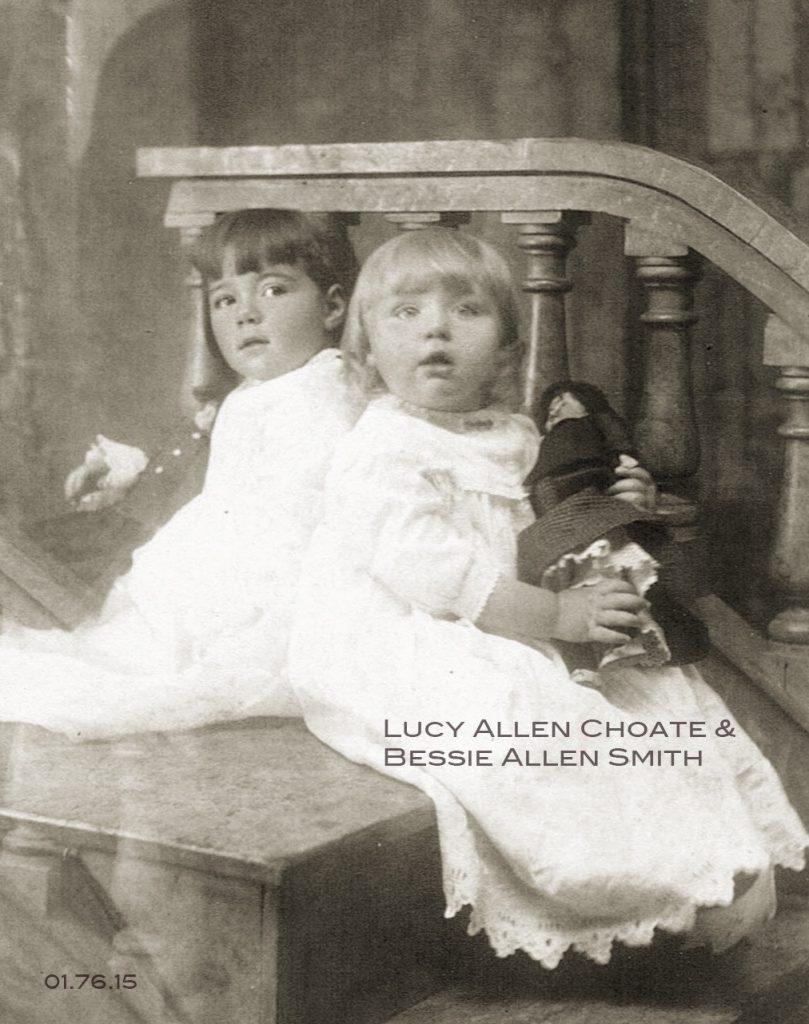 CAP Toned EX Lucy Allen Choate&Bessie Alllen Smith01.76.15